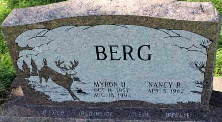 BERG, MYRON H. - Logan County, North Dakota   MYRON H. BERG - North Dakota Gravestone Photos