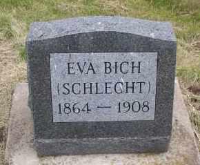 BICH, EVA - Logan County, North Dakota   EVA BICH - North Dakota Gravestone Photos