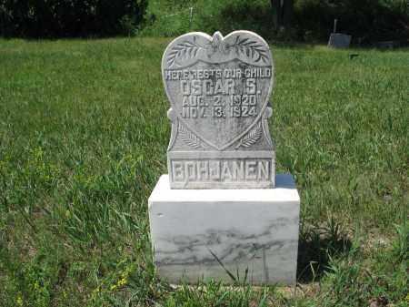 BOHJANEN, OSCAR S. - Logan County, North Dakota | OSCAR S. BOHJANEN - North Dakota Gravestone Photos