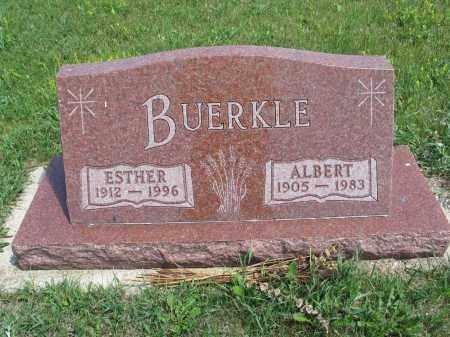 BUERKLE 096, ESTHER - Logan County, North Dakota | ESTHER BUERKLE 096 - North Dakota Gravestone Photos