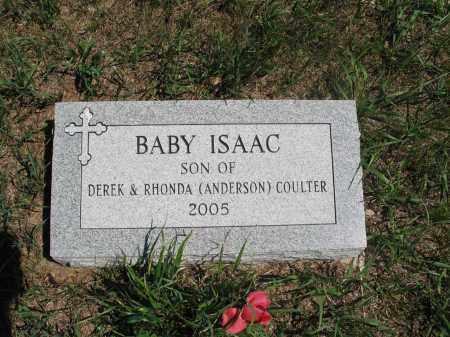 COULTER, ISAAC - Logan County, North Dakota | ISAAC COULTER - North Dakota Gravestone Photos