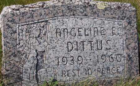 DITTUS, ANGELINE ERNA - Logan County, North Dakota | ANGELINE ERNA DITTUS - North Dakota Gravestone Photos