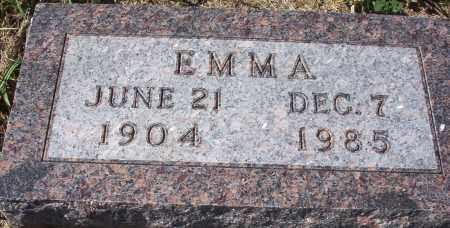 DITTUS, EMMA - Logan County, North Dakota | EMMA DITTUS - North Dakota Gravestone Photos