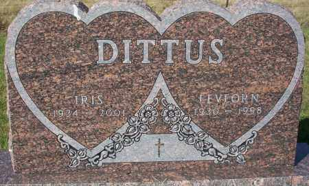 DITTUS, LEVEORN H. - Logan County, North Dakota | LEVEORN H. DITTUS - North Dakota Gravestone Photos
