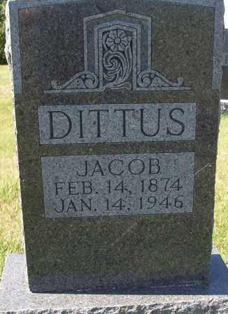 DITTUS, JACOB JR. - Logan County, North Dakota | JACOB JR. DITTUS - North Dakota Gravestone Photos