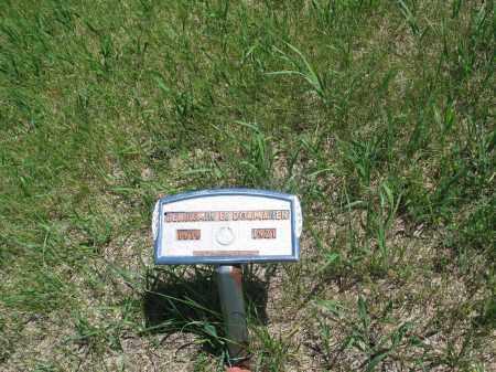 DORMANEN, BENJAMIN E. - Logan County, North Dakota   BENJAMIN E. DORMANEN - North Dakota Gravestone Photos