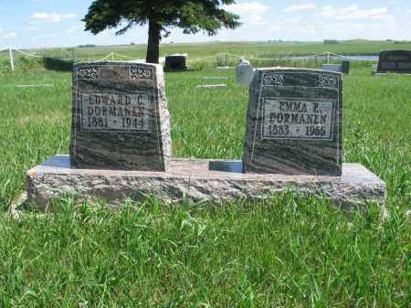 DORMANEN, EDWARD C. - Logan County, North Dakota | EDWARD C. DORMANEN - North Dakota Gravestone Photos