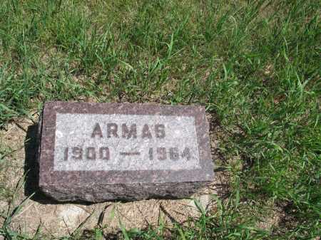 ELGLAND, ARMAS - Logan County, North Dakota   ARMAS ELGLAND - North Dakota Gravestone Photos