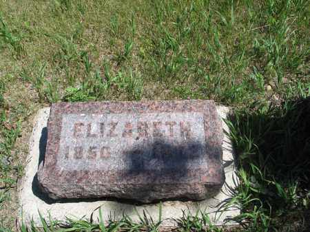 ELGLAND, ELIZABETH - Logan County, North Dakota | ELIZABETH ELGLAND - North Dakota Gravestone Photos