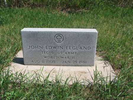 ELGLAND, JOHN EDWIN - Logan County, North Dakota | JOHN EDWIN ELGLAND - North Dakota Gravestone Photos