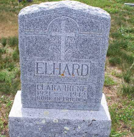 ELHARD, CLARA IRENE - Logan County, North Dakota | CLARA IRENE ELHARD - North Dakota Gravestone Photos