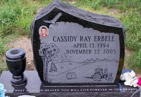 ERBELE, CASSIDY RAY - Logan County, North Dakota   CASSIDY RAY ERBELE - North Dakota Gravestone Photos