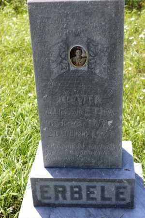 ERBELE, ELIZABETHA - Logan County, North Dakota | ELIZABETHA ERBELE - North Dakota Gravestone Photos