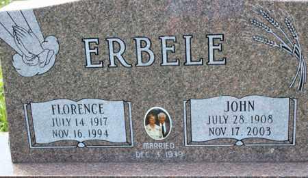 ERBELE, JOHN - Logan County, North Dakota | JOHN ERBELE - North Dakota Gravestone Photos