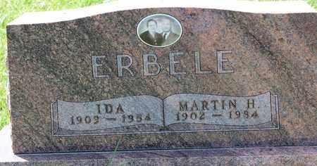 ERBELE, MARTIN H. - Logan County, North Dakota   MARTIN H. ERBELE - North Dakota Gravestone Photos