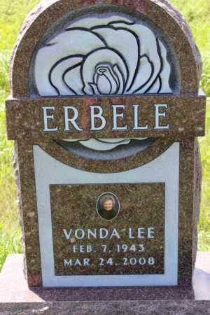 ERBELE, VONDA LEE - Logan County, North Dakota | VONDA LEE ERBELE - North Dakota Gravestone Photos