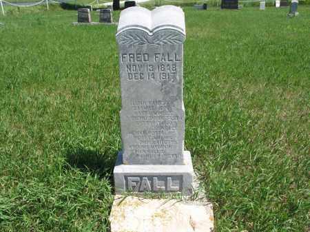 FALL, FRED - Logan County, North Dakota | FRED FALL - North Dakota Gravestone Photos