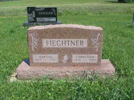 FIECHTNER 187, MARTHA - Logan County, North Dakota | MARTHA FIECHTNER 187 - North Dakota Gravestone Photos
