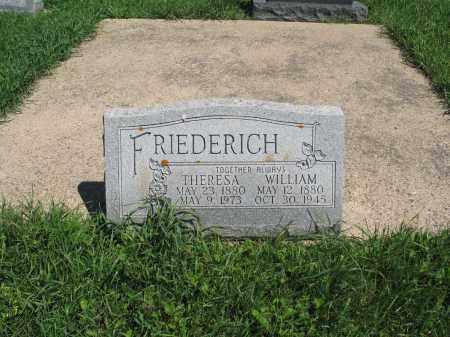 FRIEDERICH 136, THERESA - Logan County, North Dakota   THERESA FRIEDERICH 136 - North Dakota Gravestone Photos