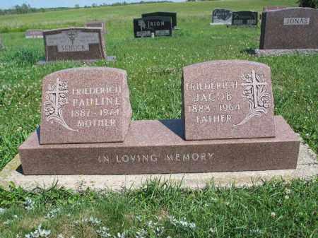BEUBER FRIEDERICH 157, PAULINE - Logan County, North Dakota   PAULINE BEUBER FRIEDERICH 157 - North Dakota Gravestone Photos
