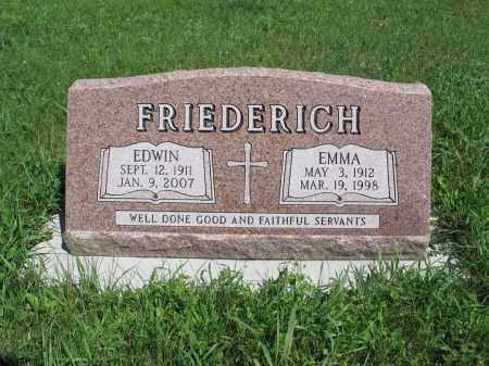 FRIEDERICH 204, EMMA - Logan County, North Dakota | EMMA FRIEDERICH 204 - North Dakota Gravestone Photos