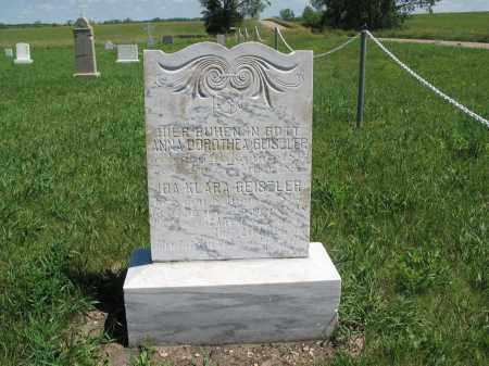 GEISZLER 005, IDA KLARA - Logan County, North Dakota | IDA KLARA GEISZLER 005 - North Dakota Gravestone Photos