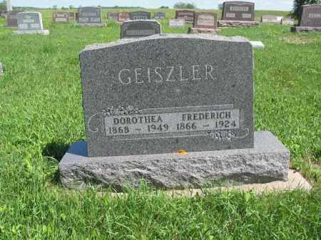 GEISZLER 112, DOROTHEA - Logan County, North Dakota   DOROTHEA GEISZLER 112 - North Dakota Gravestone Photos
