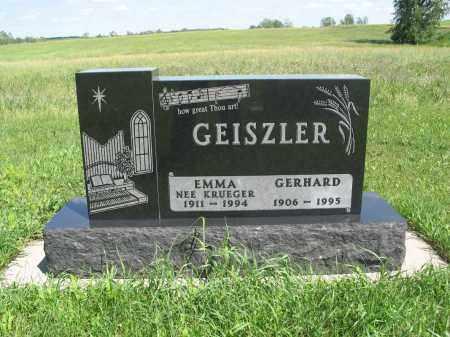 GEISZLER 190, GERHARD - Logan County, North Dakota   GERHARD GEISZLER 190 - North Dakota Gravestone Photos