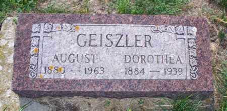 GEISZLER, AUGUST - Logan County, North Dakota | AUGUST GEISZLER - North Dakota Gravestone Photos
