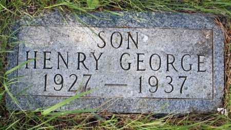 GOHNER, HENRY GEORGE - Logan County, North Dakota | HENRY GEORGE GOHNER - North Dakota Gravestone Photos