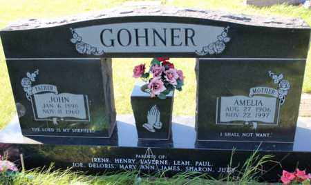 GOHNER, AMELIA - Logan County, North Dakota | AMELIA GOHNER - North Dakota Gravestone Photos