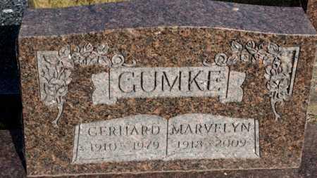 GUMKE, MARVELYN - Logan County, North Dakota | MARVELYN GUMKE - North Dakota Gravestone Photos