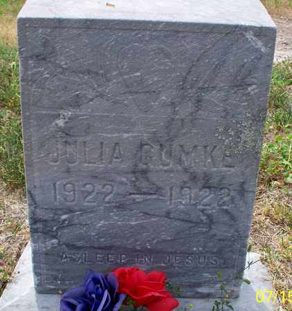 GUMKE, JULIA - Logan County, North Dakota | JULIA GUMKE - North Dakota Gravestone Photos