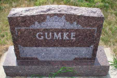 GUMKE, CAROLINA - Logan County, North Dakota | CAROLINA GUMKE - North Dakota Gravestone Photos