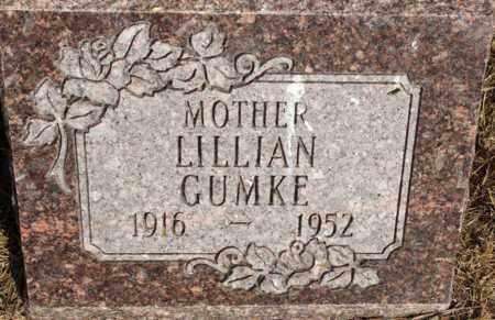 GUMKE, LILLIAN - Logan County, North Dakota | LILLIAN GUMKE - North Dakota Gravestone Photos