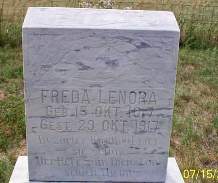 GUMKE, FREDA LENORA - Logan County, North Dakota   FREDA LENORA GUMKE - North Dakota Gravestone Photos