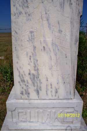 GUMKE, MICHAEL - Logan County, North Dakota | MICHAEL GUMKE - North Dakota Gravestone Photos