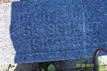 GUTSCHMIDT, DANIEL DAVID - Logan County, North Dakota | DANIEL DAVID GUTSCHMIDT - North Dakota Gravestone Photos