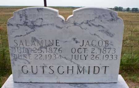 GUTSCHMIDT, SALAMINE - Logan County, North Dakota | SALAMINE GUTSCHMIDT - North Dakota Gravestone Photos