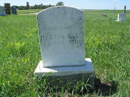 HAAG 019, MARTHA - Logan County, North Dakota | MARTHA HAAG 019 - North Dakota Gravestone Photos