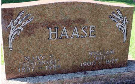 HAASE, MARY V. - Logan County, North Dakota | MARY V. HAASE - North Dakota Gravestone Photos
