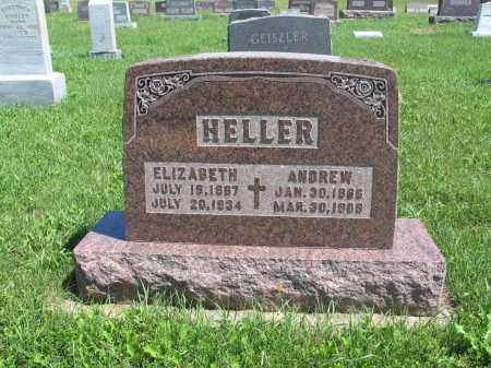HELLER 046, ANDREW - Logan County, North Dakota | ANDREW HELLER 046 - North Dakota Gravestone Photos