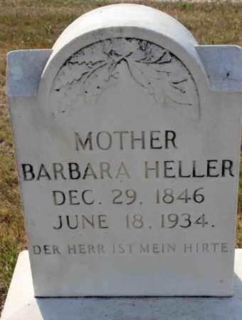 HELLER, BARBARA - Logan County, North Dakota | BARBARA HELLER - North Dakota Gravestone Photos