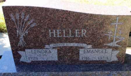 HELLER, EMANUEL - Logan County, North Dakota   EMANUEL HELLER - North Dakota Gravestone Photos