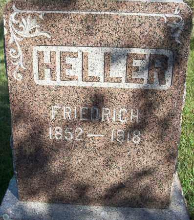 HELLER, FRIEDRICH - Logan County, North Dakota   FRIEDRICH HELLER - North Dakota Gravestone Photos