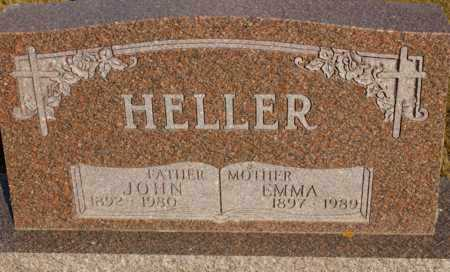 HELLER, EMMA - Logan County, North Dakota | EMMA HELLER - North Dakota Gravestone Photos