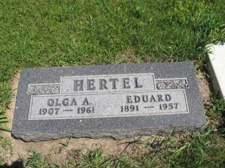 HERTEL 102, EDUARD - Logan County, North Dakota   EDUARD HERTEL 102 - North Dakota Gravestone Photos