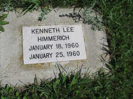 HIMMERICH 101, KENNETH LEE - Logan County, North Dakota   KENNETH LEE HIMMERICH 101 - North Dakota Gravestone Photos