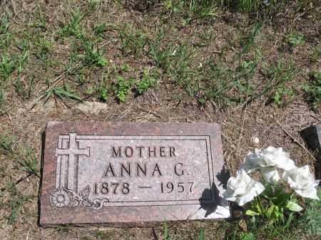 HOLMSTROM, ANNA G. - Logan County, North Dakota | ANNA G. HOLMSTROM - North Dakota Gravestone Photos