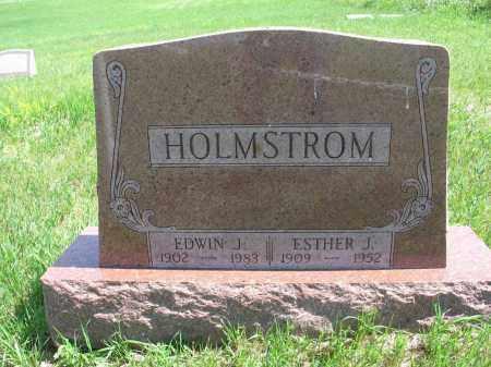 HOLMSTROM, EDWIN J. - Logan County, North Dakota | EDWIN J. HOLMSTROM - North Dakota Gravestone Photos